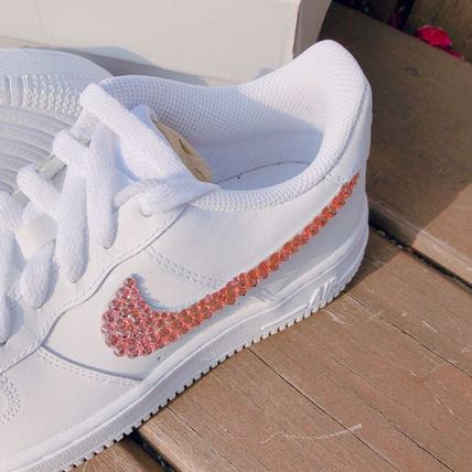 Nike スニーカー 「NIKE AIR FORCE 1」◆「SWAROVSKI JEWELRY」HANDMADE CUSTOM◆(6)
