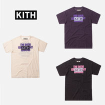 即配送 KITH NYC WORLD TOUR TEE Monday Program ロゴT