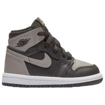 SS18 AIR JORDAN RETRO 1 HIGH OG TD GREY 10-16cm 送料無料