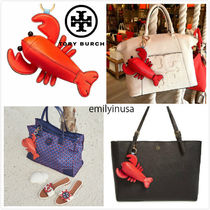 TORY BURCH★Luke The Lobster Coin Pouch Key Fob*ロボスター