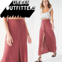 ● Urban Outfitters ●人気 ボタンダウン マキシスカート