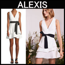 ALEXIS(アレクシス) ワンピース ALEXIS〓OLENAウエストリボン ワンピース