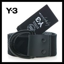 新作★Y-3(ワイスリー)★Y-3 ELASTIC BELT BLACK