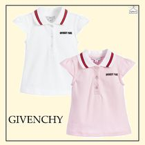 GIVENCHY☆girls ポロシャツ pink×white 6-36M