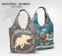 HUNTING WOLRD 7365-GY0 BORNEO/GRY ハンティング トート-sale