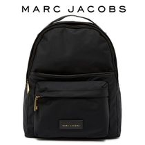 MARC JACOBS★ロゴ入りナイロン バックパック BLACK