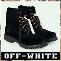 《最新作!!》18AW [OFF-WHITE]BLACK TIMBERLAND BOOTS