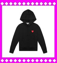 COMME des GARCONS(コムデギャルソン) パーカー・フーディ 国内発送〓COMME des GARCONS Play ハート パーカー