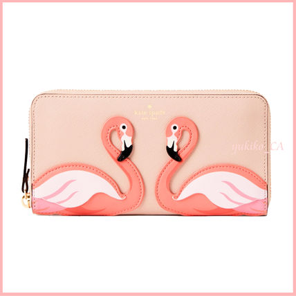 kate spade new york 長財布 【国内発送】BY THE POOL FLAMINGO LACEY セール(2)