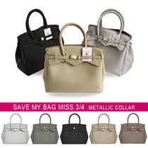 国内即日◆SAVE MY BAG MISS 3/4 METALLICS メタリック 10304N