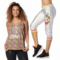 上下セット/ZUMBA/DreamTank&Believe In Magic Capri Sweatpants