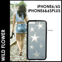 ★追跡&関税込【WILDFLOWER】iPhone6&6Plus Denim