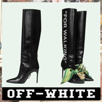 《最新作!!》18AW [OFF-WHITE]BLACK FOR WALKING BOOTS