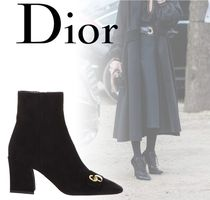 18SS【Dior】Ankle Boots With Logo On Toe★ショートブーツ
