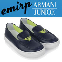 18SS☆ARMANI JUNIOR★BOYS★レザーローファー(17cm〜20.5cm)