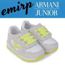 18SS☆ARMANI JUNIOR★KIDS★スエードスニーカー(13cm〜16.5cm)