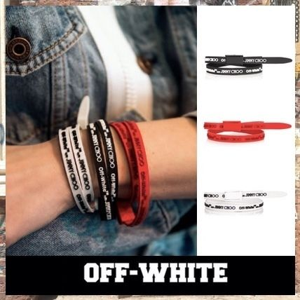 【OFF-WHITE × Jimmy Choo】CONSTANCE ラバーブレスレット /3色
