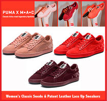 [セール]PUMA/MACコラボ☆Classic Suede & Patent Leather