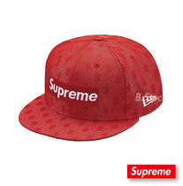 [18S/S] 国内発送 Supreme Monogram Box logo New era Cap