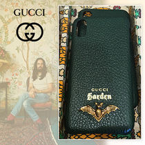 GUCCI Garden 限定 IPhone X ケース  バット green 追跡付