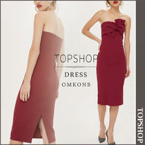 【国内発送・関税込】TOPSHOP★Bow Twist Midi Bodycon Dress
