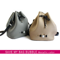 国内即日◆SAVE MY BAG BUBBLE METALLICS 10250N 巾着バッグ