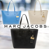 MARC JACOBS★レザー タグ トートバッグ 3color