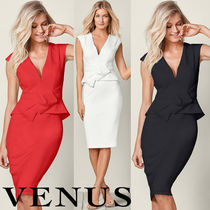 【リボンがキュート!】新作 VENUS BOW DETAIL BODYCON DRESS