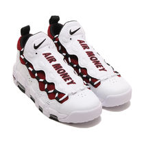 国内配送 NIKE AIR MORE MONEY WHITE / TEAM RED
