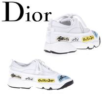 18SS【Dior】SALE!!Embellished Leather Sneakers★スニーカー
