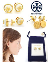 ★SALE【国内発送】トリーバーチ Melodie ロゴ EARRINGS ピアス