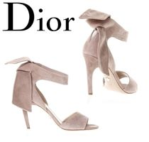 18SS【Dior】SALE!!Suede Sandals With Strip★スエードサンダル