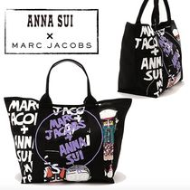 ANNA SUI(アナスイ) トートバッグ 送料込◆ANNA SUI×MARC JACOBS◆コラボトートバッグ 国内発送