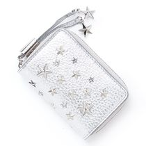 JIMMY CHOO コインケース nellie-wds-silver