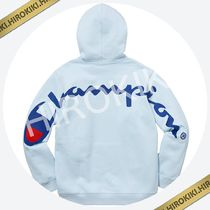 【18SS】Supreme Champion Hooded Sweatshirt チャンピオン 水色