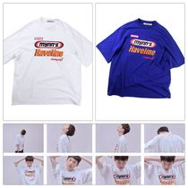 BTS着用 [ENZOBLUES] LOGOS BIG T-SHIRT