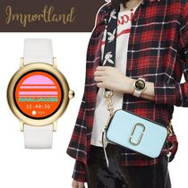 Marc Jacobs Gold/White Riley Touchscreen Smartwatch