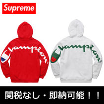 即納国内発送 Supreme Champion Hooded Sweatshirt シュプ