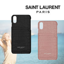 【Saint Laurent】新作◆IPHONE Xケース