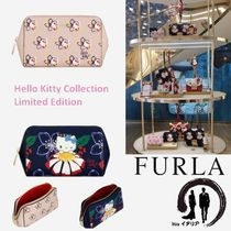 注目の限定品!!【FURLA X HELLO KITTY】BEAUTY CASE♪ ポーチ ♪