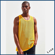 【UrbanOutfitters】 先取新作!メッシュタンクトップ・Gold★