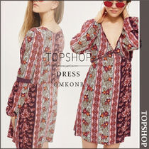 【国内発送・関税込】TOPSHOP★Smock Dress by Band Of Gypsies