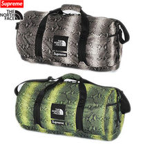 16week Supreme The North Face Snakeskin Flyweight Duffle Bag