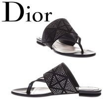 18SS【Dior】SALE!!Studded Leather Sandals★スタッズサンダル