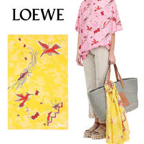 追跡ありで安心☆LOEWE 110X170 Pareo Paula Birds Acid Yellow