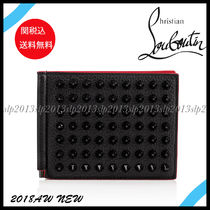 18New■Christian Louboutin■スパイク Clipsos Wallet☆関税込