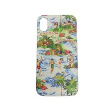 【国内発】 DSQUARED2 iPhoneX ケース HAWAIIAN ROCKER グリーン