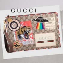 【GUCCI】Courrier GGスプリーム ポーチ