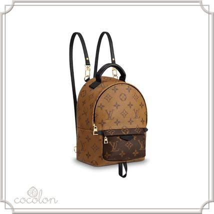 Louis Vuitton バックパック・リュック 国内発[Louis Vuitton] パームスプリングス バックパック MINI(8)