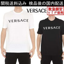 18SS SALE★VERSACE★ロゴTシャツ